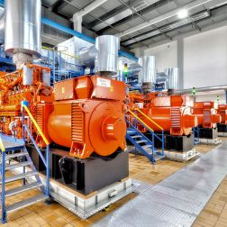 INNIO gas engines for for heating plant in Germany